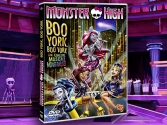 DVD Monster High Boo York Boo York