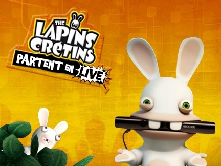 Jeux rayman et the lapins cr tins actu zoom - Lapin cretin vampire ...