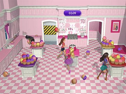 bienvenue dans le manoir barbie dreamhouse party d tails sp cial jeux vid o actu zoom. Black Bedroom Furniture Sets. Home Design Ideas