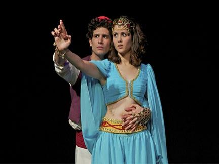 Aladin et Jasmine amoureux !