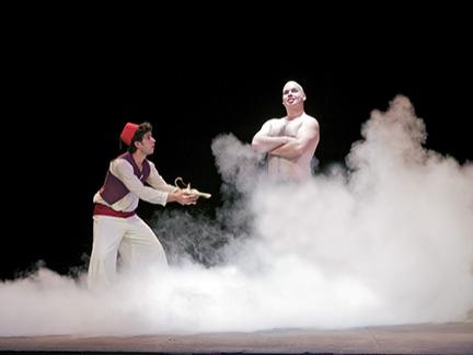 Aladin et la lampe magique...