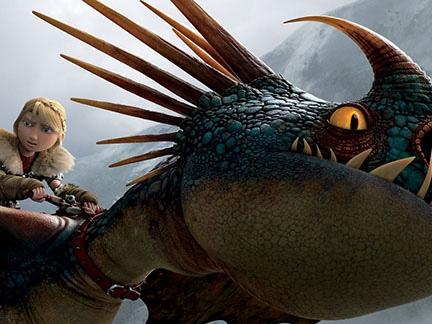 astrid et son dragon les cavaliers de berk images