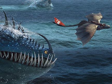 Dragons 2 - Harold et Krokmou