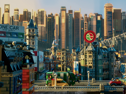 lego movie city background - photo #36