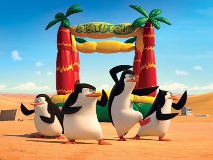 Les Pinguoins débarques