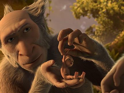 Un simien pas comme les autres