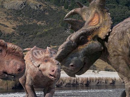 Les Pachyrhinosaurus