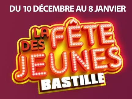 La fête des jeunes à Bastille