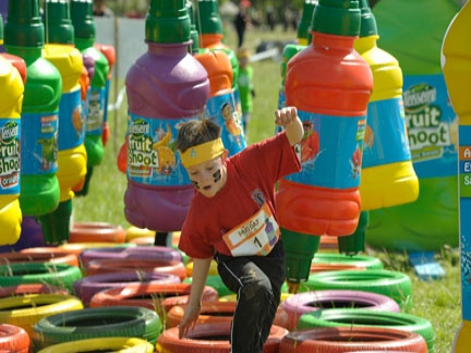The Mud Day Kids by Fruit shoot Paris