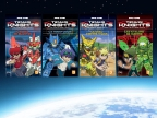 Les romans Tenkai Knights