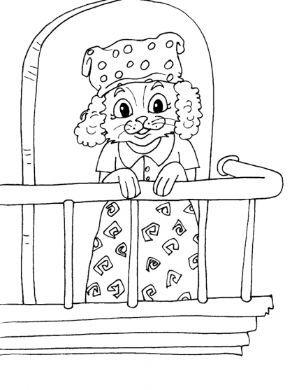 Coloriage Chat 29