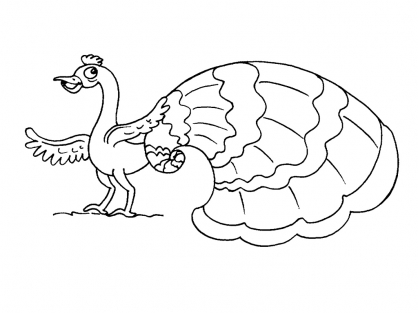 Coloriage Coquillage 20