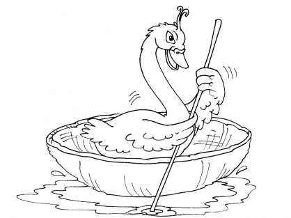 Coloriage cygne 23 coloriage cygnes coloriage animaux - Coloriage cygne ...