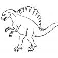 Coloriage Dinosaure : Ouranosaurus