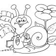 Coloriage Escargot 26