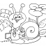 Coloriage Escargot 26