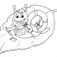 Coloriage Escargot 28