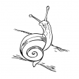 Coloriage Escargot 7