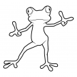 Coloriage Grenouille 16