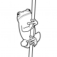 Coloriage Grenouille 7