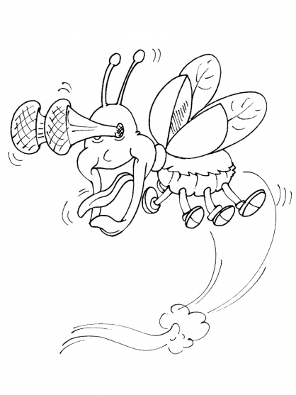 Coloriage Insecte 24