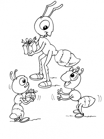 Coloriage Insecte 30