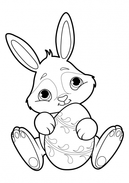 Coloriage lapin 18 coloriage lapins coloriage animaux - Coloriages lapins ...