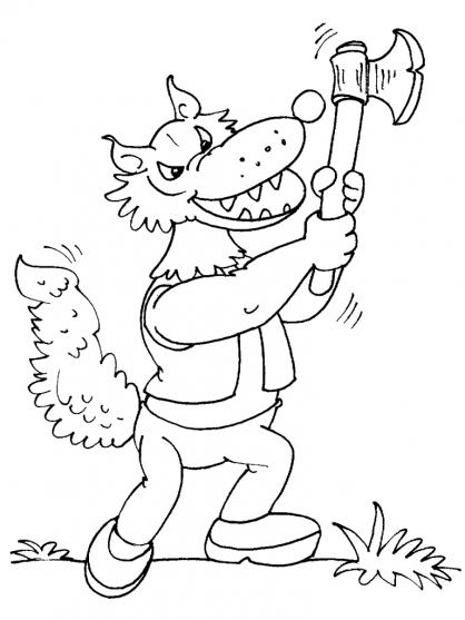 Coloriage loup 27 coloriage loups coloriage animaux - Coloriage gulli fr ...