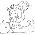 Coloriage Mammifère marin 18