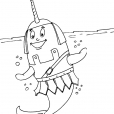 Coloriage Mammifère marin 25