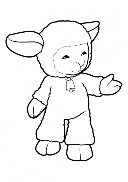 Coloriage Mouton 19
