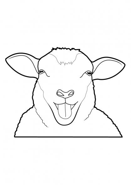 Coloriage Mouton 2