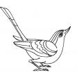 Coloriage Oiseau 10