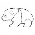 Coloriage Panda 11