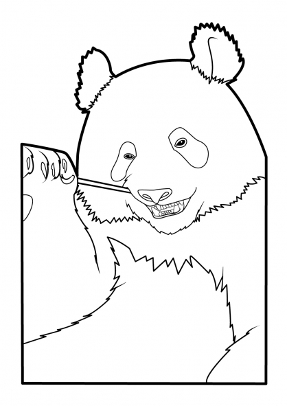 Coloriage panda 15 coloriage pandas coloriage animaux - Coloriage panda ...