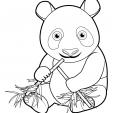 Coloriage Panda 16