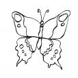 Coloriage Papillon 15