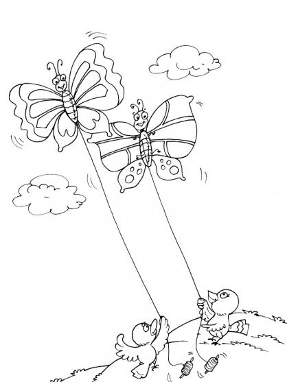 Coloriage Papillon-16