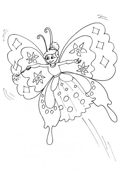 Coloriage Papillon-17