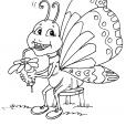 Coloriage Papillon 19
