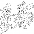 Coloriage Papillon-20
