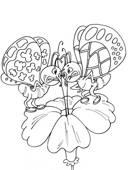 Coloriage Papillon-27