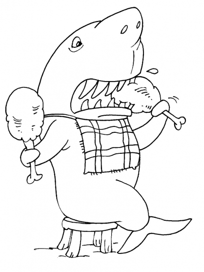 Coloriage Requin 28