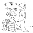 Coloriage Requin 29
