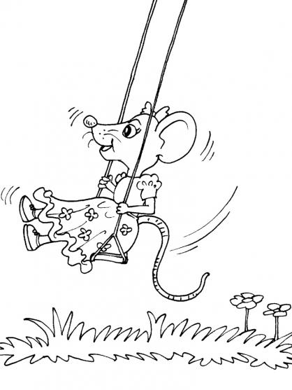 Coloriage souris 31 coloriage souris coloriage animaux - Imprimer coloriage petite souris ...
