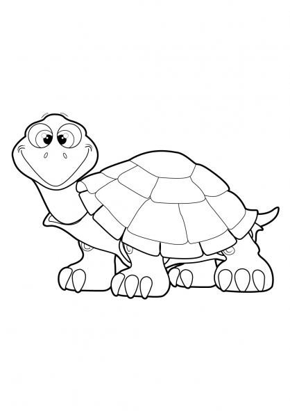 Coloriage Tortue 20