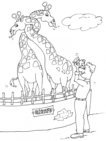 Coloriage Zoo 16