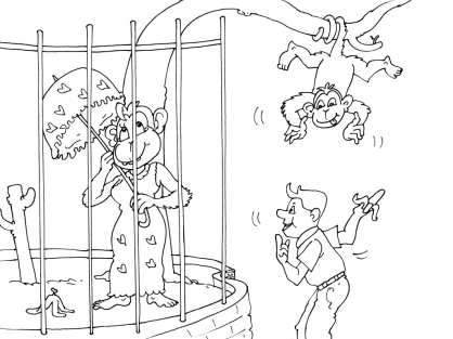 Coloriage Zoo 17