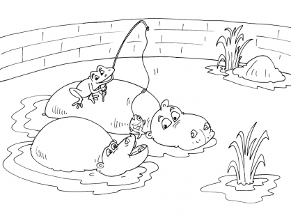 Coloriage Zoo 25