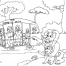 Coloriage Zoo 29